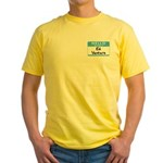 Ed Venture Yellow T-Shirt