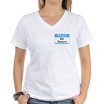 Ed Venture Women's V-Neck T-Shirt