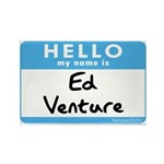 Ed Venture Rectangle Magnet (10 pack)