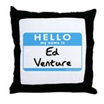 Ed Venture Throw Pillow