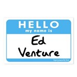 Ed Venture Postcards (Package of 8)