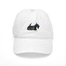Scottish Terrier Profile Baseball Cap