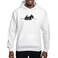 Scottish Terrier Profile Hoodie