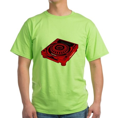 CDJ-1000 Swirl Green T-Shirt