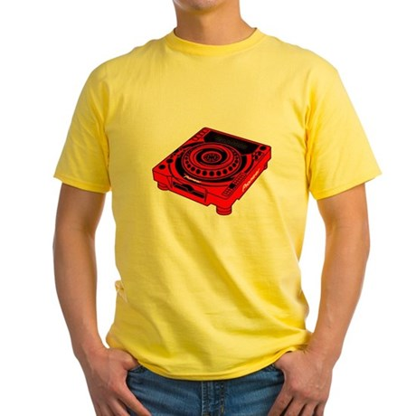 CDJ-1000 Swirl Yellow T-Shirt