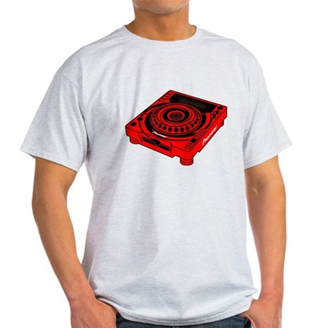 CDJ-1000 Swirl Light T-Shirt