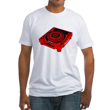 CDJ-1000 Swirl Fitted T-Shirt
