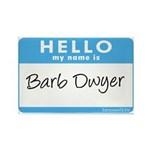 Barb Dwyer Rectangle Magnet (100 pack)