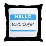 Barb Dwyer Throw Pillow