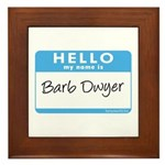 Barb Dwyer Framed Tile