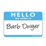 Barb Dwyer Postcards (Package of 8)