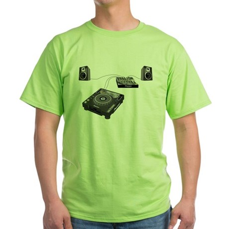 My CDJ Setup Green T-Shirt