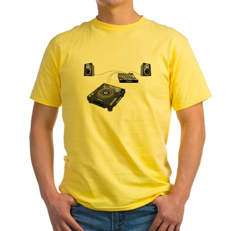 My CDJ Setup Yellow T-Shirt