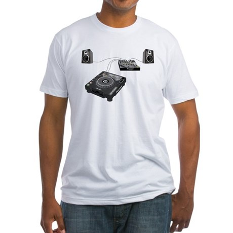 My CDJ Setup Fitted T-Shirt