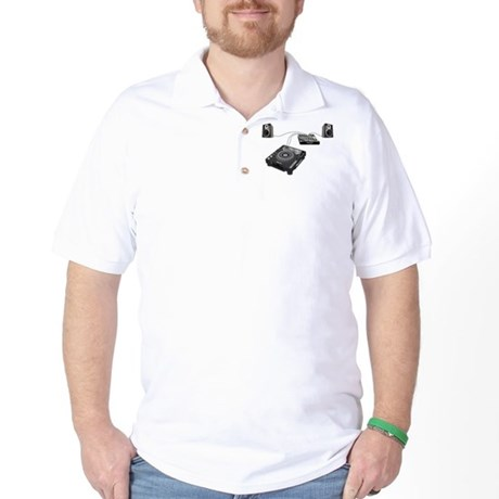 My CDJ Setup Golf Shirt