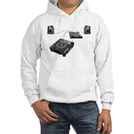 My CDJ Setup Hooded Sweatshirt