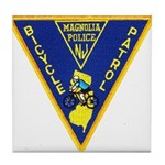 Magnolia Bike Police Tile Coaster