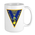 Magnolia Bike Police Large Mug