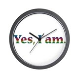 Unique Gay Wall Clock