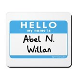 Abel N. Willan Mousepad