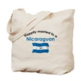 Happily Married Nicaraguan 2 Tote Bag