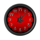 Klingon War Large Wall Clock