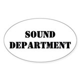 &amp;quot;Sound Department&amp;quot; Sticker (10 pk)
