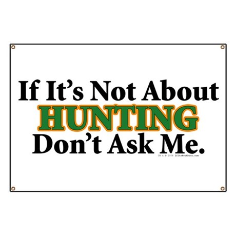 Hunting Banner