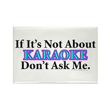 Karaoke Rectangle Magnet (10 pack)