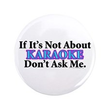 "Karaoke 3.5"" Button (100 pack)"