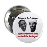 "Terrorist Friends 2.25"" Button (10 pack)"