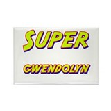Super gwendolyn Rectangle Magnet