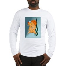 Fancy Gold Fish Long Sleeve T-Shirt