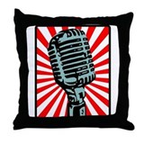 Shure 55S Microphone Throw Pillow
