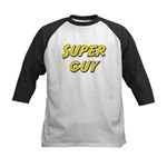 Super guy Kids Baseball Jersey