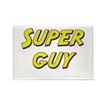 Super guy Rectangle Magnet