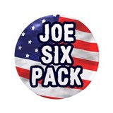 "The Joe Six Pack 3.5"" Button"