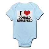 I Love Donald Rumsfeld Infant Creeper