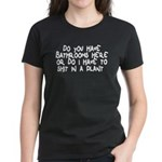 Shit In A Plant Women's Dark T-Shirt