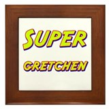 Super gretchen Framed Tile