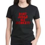 Monkey Judge Women's Dark T-Shirt