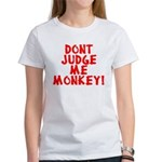 Monkey Judge Women's T-Shirt