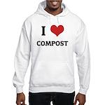 I Love Compost Hooded Sweatshirt