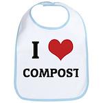 I Love Compost Bib
