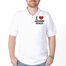 I Love Antonin Scalia T-Shirt