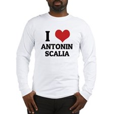 I Love Antonin Scalia Long Sleeve T-Shirt