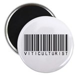 Viticulturist Barcode Magnet