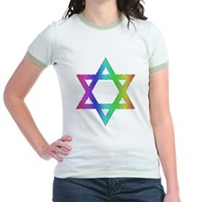 Gay Pride Star of David T