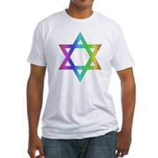 Gay Pride Star of David Shirt