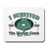 I survived the Wall Street Crash 2008 Mousepad